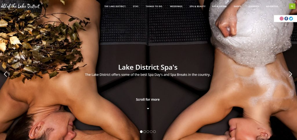lake district spas